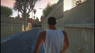 GTA San Andreas - First Mission (V Graphics)