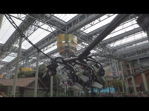 Teenage Muntan Ninja Turtles Shell Shock (HD Off-ride) Nickelodeon Universe
