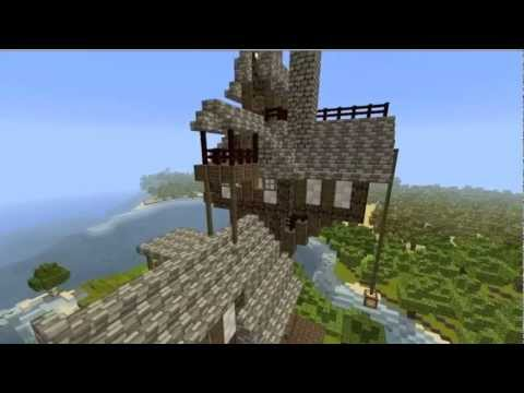The Burrow Harry Potter Minecraft Minecraft Harry Potter Burrow