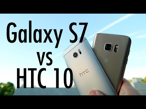 HTC 10 vs Samsung Galaxy S7: Flagship Phone Fight