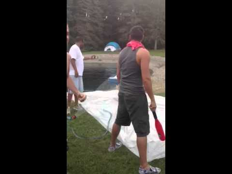 2012 Beer Olympic Event: Slip Cup