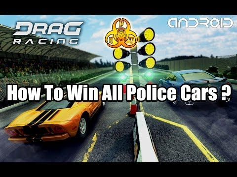 [Drag Racing POLICE Edition] - How to win all Police cars / tune and drive