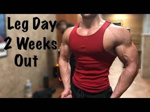 Road To The Stage EP 29 | Legs 2 Weeks Out From A Mens Physique Show