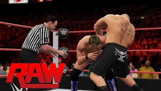 WWE 2K16 - Brock Lesnar vs. Chris Jericho |One On One Match- RAW 2016(PS4)