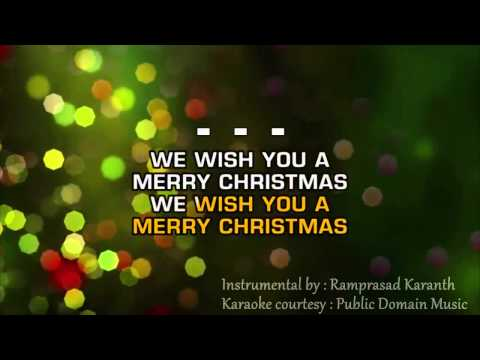 Download we wish you a merry christmas instrumental