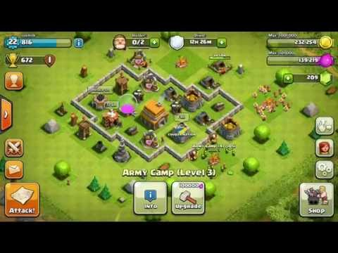 Clash Of Clans (iOS) | My Base