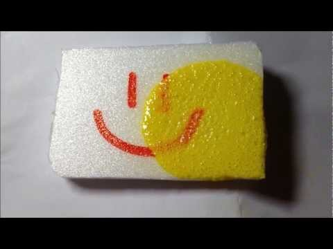 How to spray paint Styrofoam without melting (Non foam safe)