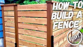 DIY: How To Build A Fence (BYOT #12)