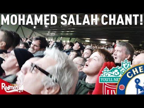 Mohamed Salah Chant! | Liverpool v Chelsea 1-1