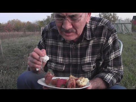 Жаркое на огне с телятиной и грибами