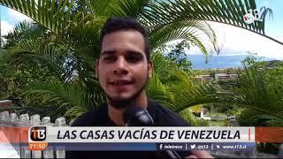 Venezuela se llena de casas vacías por la crisis