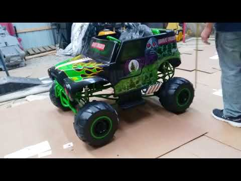 Grave Digger Power Wheels - Softer Spring Upgrade