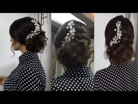 Прически на выпускной из длинных волос своими руками
