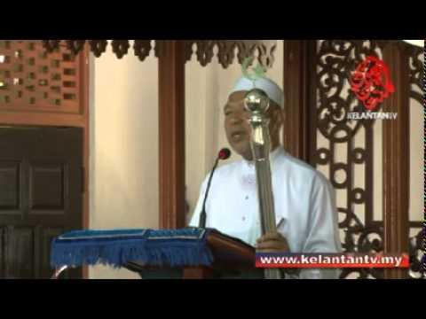 Khutbah Jumaat Menteri Besar Kelantan Masjid Al-Zikri Sungai Sok