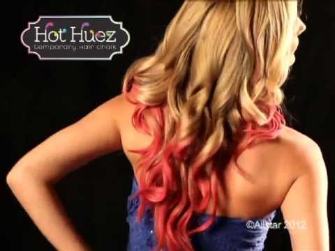 Hot Huez™ Temporary Hair Chalk   Official Commercial   Top TV Stuff