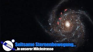 Seltsame Sternenbewegung in der Milchstrasse