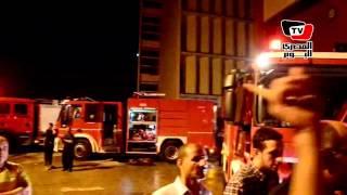 الدفاع المدني يسيطر على حريق في كلية طب المنصورة