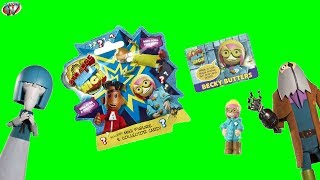 Strange Hill High Mini Figure Blind Bags Opening & Toy Review, Vivid