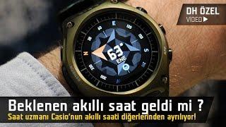 Özlemini çektiğimiz akıllı saat geldi mi? Casio'nun yeni modelini kullandık