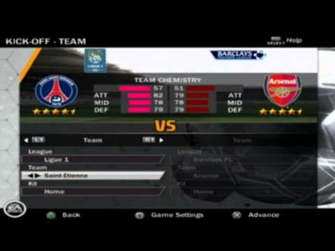 Fifa 13 Ps2 Menu, Teams & Extras Hd
