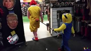 Halloween 2018    Ronald McDonald's surprise visit to HALLOWEEN SPIRIT Store