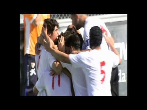 Sevilla Atlético 1 - Cádiz 3 (26-10-14)