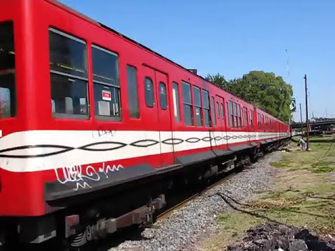 Underground Mitsubishi (Ex Manoruchi) train in the sun