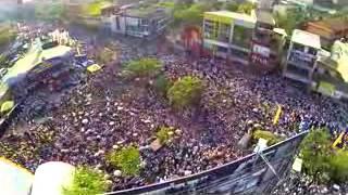නූගේගොඩ ලක්ෂ 5 අධික පිරිසක්.. ගුවනින් ගත් වීඩියෝව Nudegoda Rally live