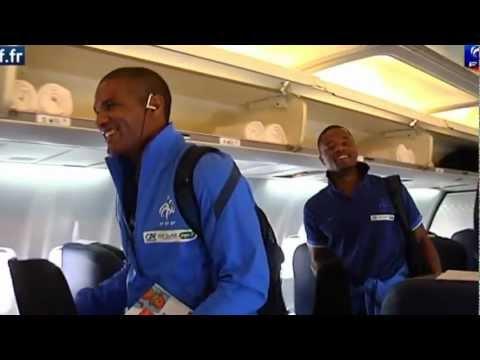 image vidéo Equipe de France - Le voyage des Bleus pour l'Euro 2012