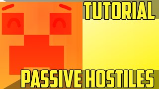 Make Hostile Mobs Passive - Minecraft Command Block Tutorial [1.11][1.10][1.9]