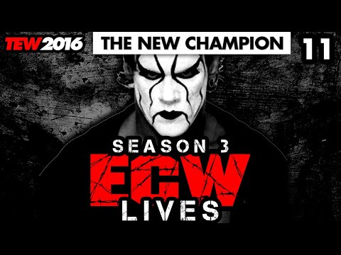 ⭐️ Highest Match Rating Yet! | ECW Lives S3 #11 | TEW 2016 | Total Extreme Wrestling 2016