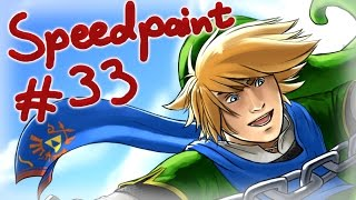 Hyrule Warriors Speedpainting [lookslikeLink Thumbnail]