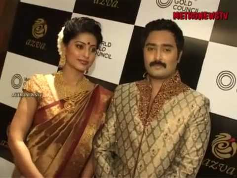Prasanna and Sneha celebrity couple at WGC launch of AZVA in Chennai