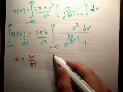 Quantum Physics : 49 Stefan Boltzmann law proof