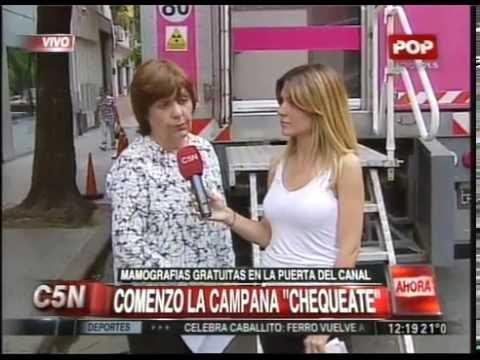 C5N - SALUD: MAMOGRAFIAS GRATUITAS EN LA PUERTA DEL CANAL