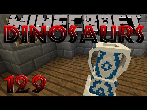 Minecraft Dinosaurs Part 129 Amphora Volute and Kylix crafting New Avian Dinosaur Research