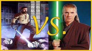 Kyle Katarn vs Cin Drallig   Star Wars Versus Series