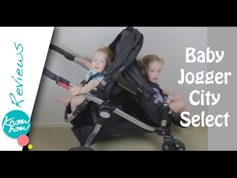 Baby Jogger City Select Stroller Review. Baby Jogger Double Stroller