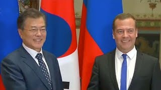 ROK president and Putin to discuss denuclearization, regional cooperation