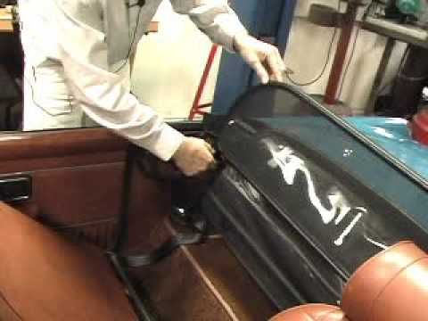 Moss Motors Mgb Folding Windblocker Youtube