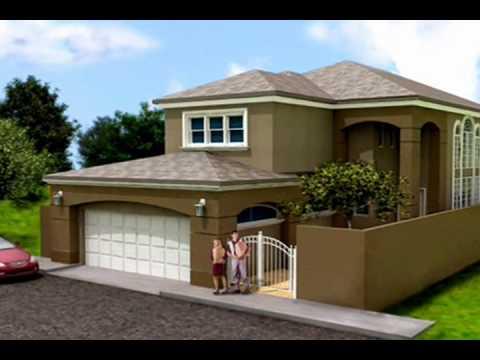Planos de casas modelo san aaron 01 arquimex planos de for Casas modernas con puertas antiguas