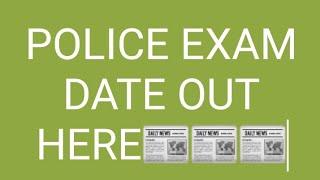 POLICE EXAM DATE OUT ।। HSSC में कर्मचारियों की कमी।। सक्षम युवा के लिए खुशखबरी ।।