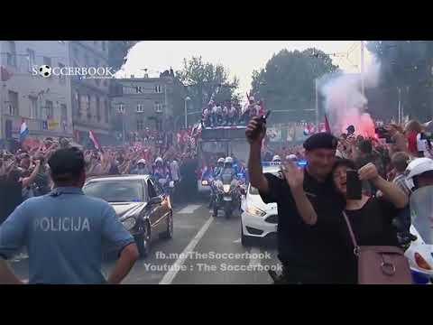 Croatia Team Parade after Worldcup 2018 thumbnail