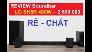 Dàn Soundbar LG SK5R công suất 480w giá dưới 3 triệu đáng mua