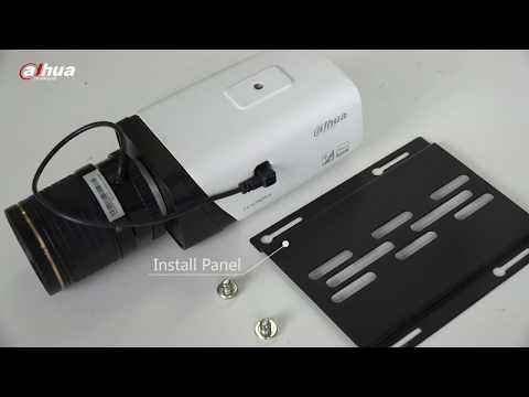 Box camera installation - Dahua