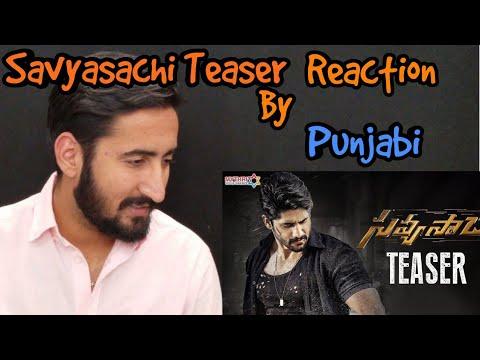 Punjabi react to Savyasachi Teaser|Naga Chaitanya | Madhavan | Nidhhi Agerwal