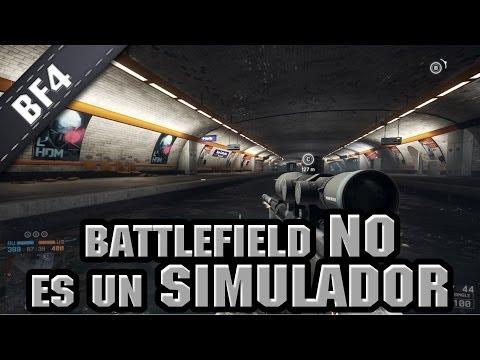 Battlefield NO es un simulador