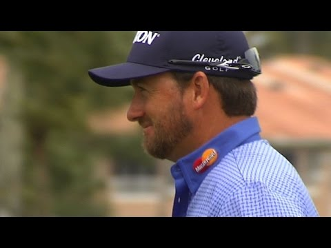 Graeme McDowell makes long eagle putt at The Honda Classic