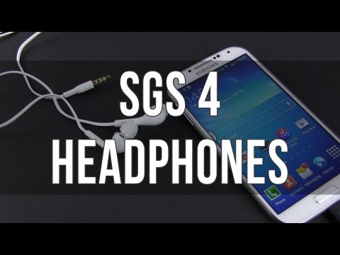 Samsung Galaxy S4 headphones / headset review