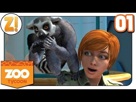 Zoo Tycoon: Kaddi bei den wilden Tieren #01 | Let's Play [DEUTSCH]